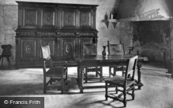 Drawing Room Of The Counts Of Savoy c.1930, Chateau De Chillon