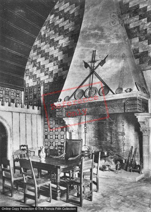 Photo of Chateau De Chillon, Interior c.1930