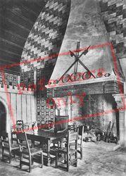 Interior c.1930, Chateau De Chillon