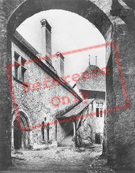 The Court c.1935, Chateau De Chillon