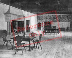 The Emperor's Room c.1930, Chateau De Chillon