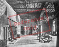 The Interior c.1930, Chateau De Chillon