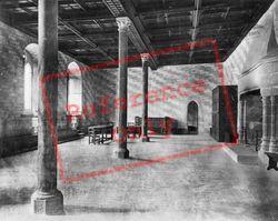 The Justice Hall c.1930, Chateau De Chillon