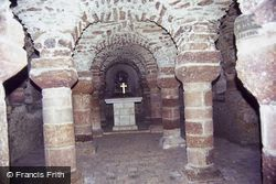 Church Of St Jean, The Crypt 1984, Château-Gontier