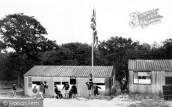 Chatham, Buckmore Park, Cub Huts c.1965