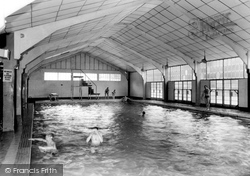 Chatham, Buckmore Park, Swimming Pool c.1960
