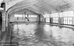 Chatham, Buckmore Park, The Swimming Pool c.1960