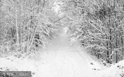 Chatham, Buckmore Park, Winter Scene c.1965