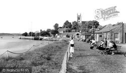 Chatham, Gun Wharf Gardens c.1955