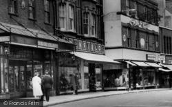 Chatham, High Street, Shops c.1965