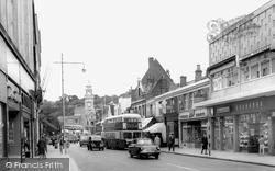 Chatham, Military Road c.1965