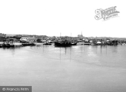 Chatham, Rochester From Chatham c.1955