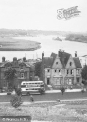 Chatham, The River Medway c.1955