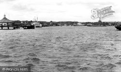 Chatham, The River Medway c.1960