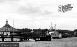 Chatham, The River Medway, Sun Pier c.1960