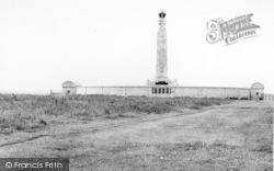 Chatham, The Royal Navy Memorial, Long Hill c.1965