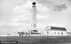 Chatham, The War Memorial, Great Lines c.1955