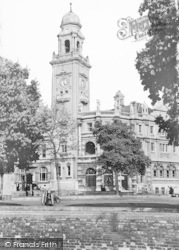 Chatham, Town Hall c.1955