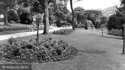 Chatham, Town Hall Gardens c.1960