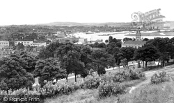 Chatham, View From The Great Lines c.1960