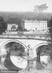 And Bridge 1886, Chatsworth House