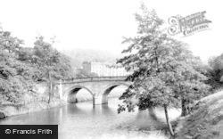 And Bridge c.1955, Chatsworth House