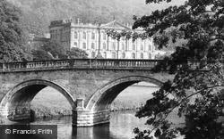 And Bridge c.1955, Chatsworth House