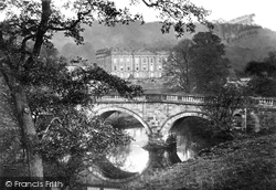 And Bridge (Through Trees) c.1867, Chatsworth House