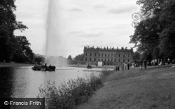And Emperor Fountain 1961, Chatsworth House