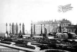 And French Gardens c.1870, Chatsworth House