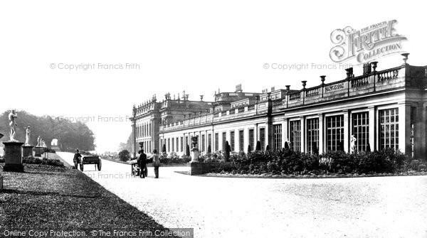 Chatsworth, and Italian Gardens c1870