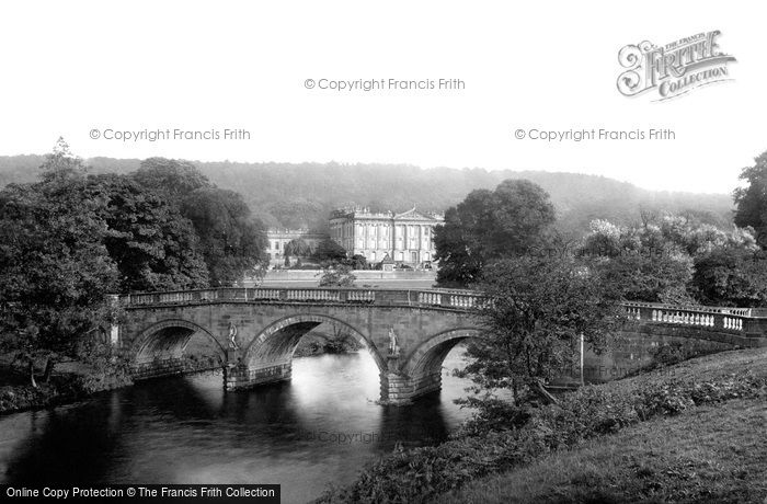 Chatsworth, and the Bridge 1886