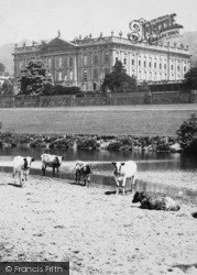Cattle By The Lake c.1890, Chatsworth House