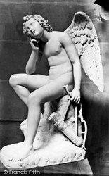 Chatsworth House, Cupid In Thought c.1876