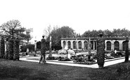 Chatsworth, French Gardens c1870
