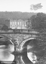From The Bridge c.1867, Chatsworth House