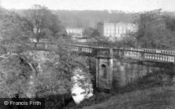 From The Bridge c.1880, Chatsworth House