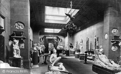 Sculpture Hall c.1876, Chatsworth House