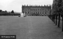 South Front 1961, Chatsworth House