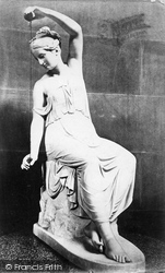 Spinning Girl By Schadow c.1876, Chatsworth House