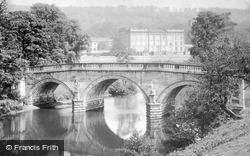 The Bridge And River c.1880, Chatsworth House