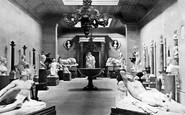 Chatsworth, the Sculpture Hall c1876
