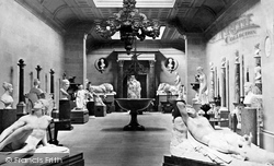 The Sculpture Hall c.1876, Chatsworth House