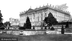 West Front c.1870, Chatsworth House