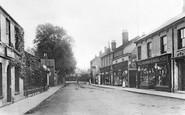 Chatteris, High Street c1900
