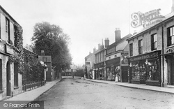 Chatteris, High Street c.1900
