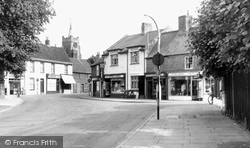 Chatteris, High Street c.1955