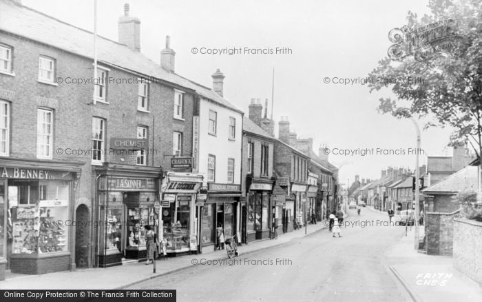 Photo of Chatteris, High Street c.1955