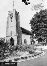 Chatteris, Parish Church Of St Peter And St Paul c.1955