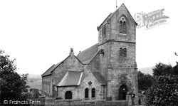 Chatton, Holy Cross Church c.1955